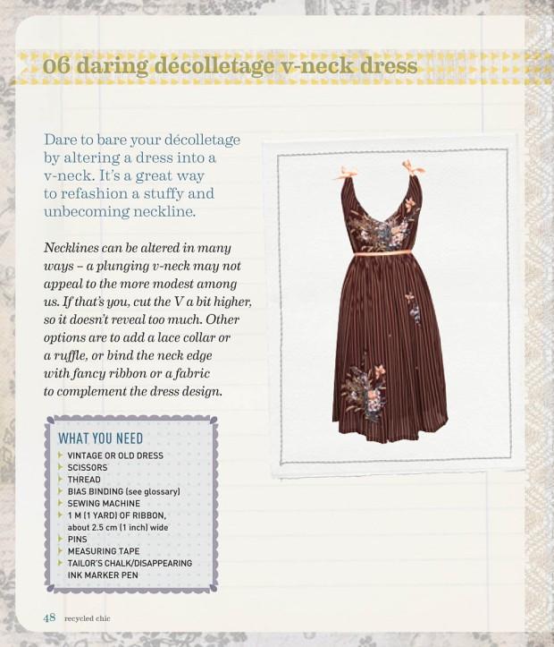Recycled_Chic_v-neck dress-1