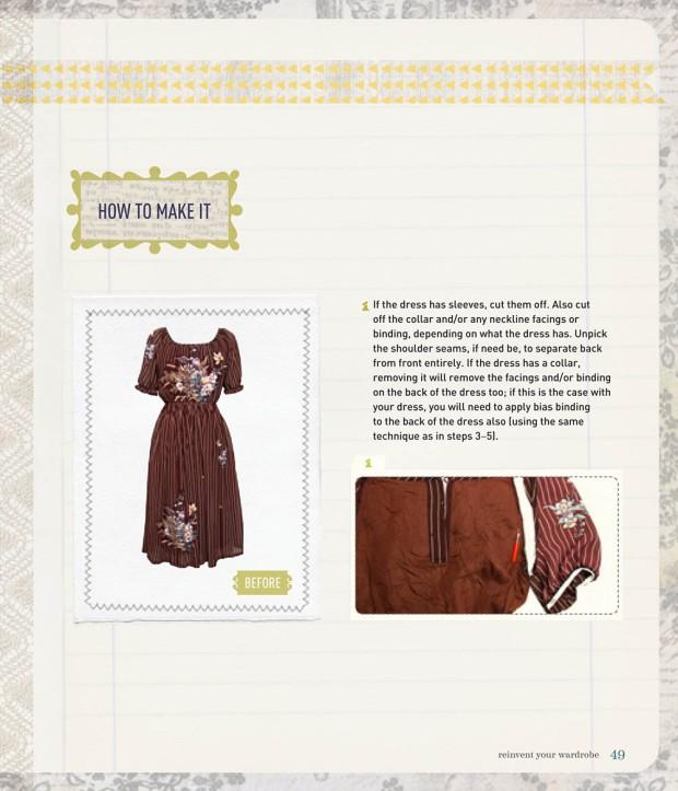 Recycled_Chic_v-neck dress-2